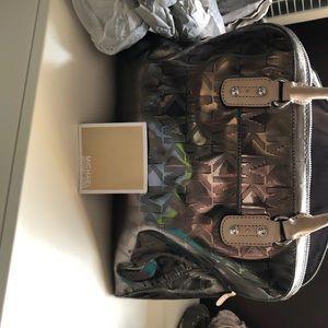 Michael Kors Gun Metal Handbag